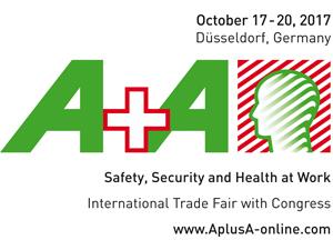 A+A 2017 国際労働安全機材・技術展に出展の画像