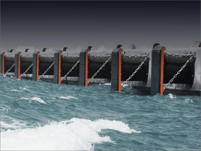 受衝板付防舷材の画像