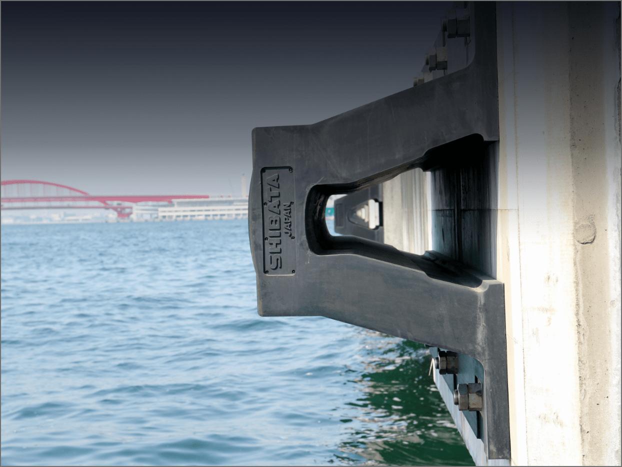 Vシリーズ防舷材の画像