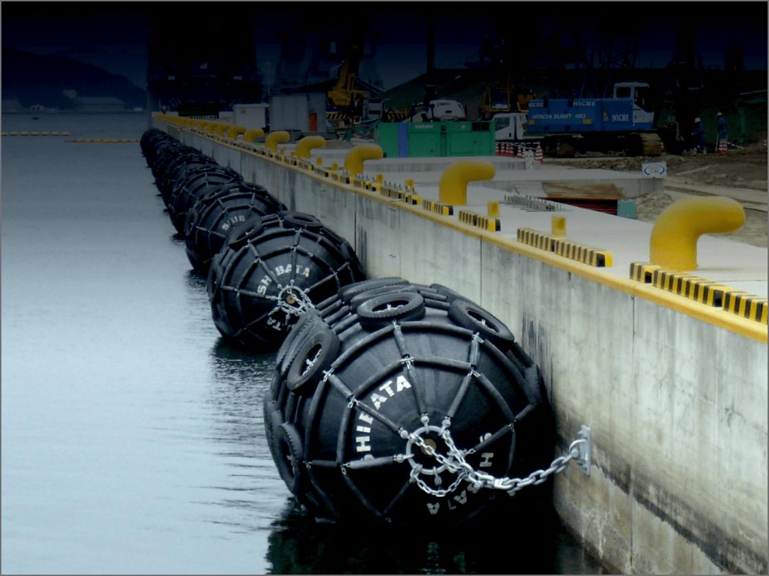 空気式防舷材の画像
