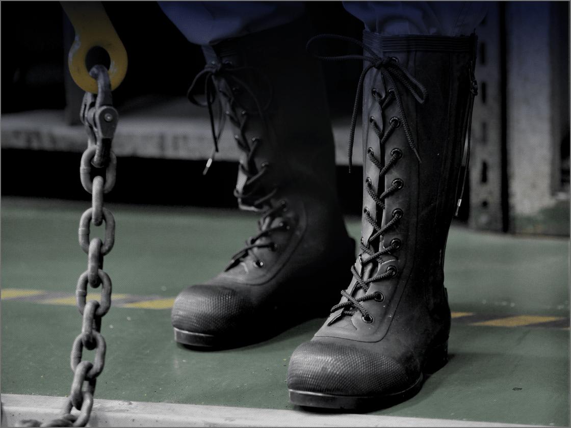 安全長靴の画像