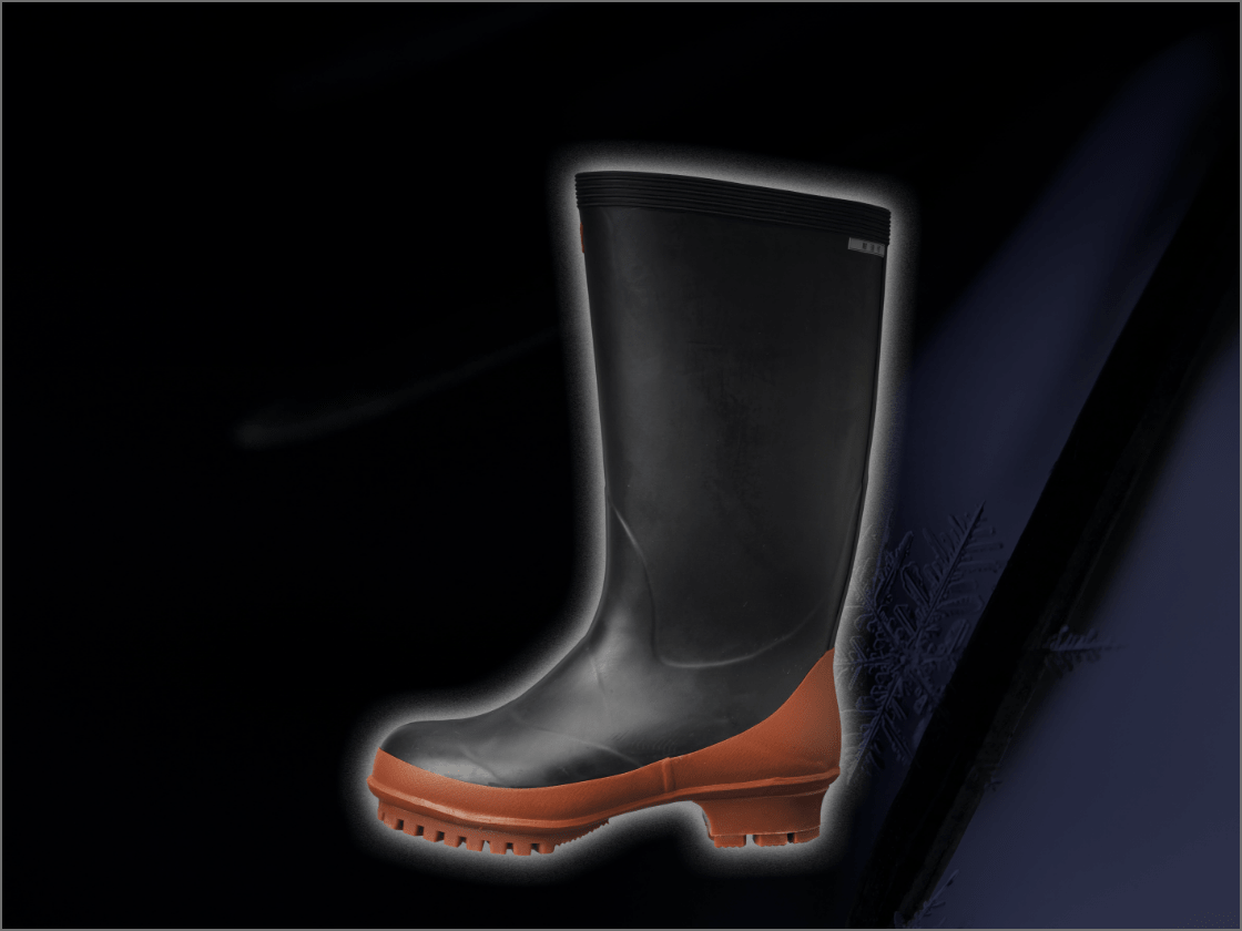 防寒対策長靴の画像