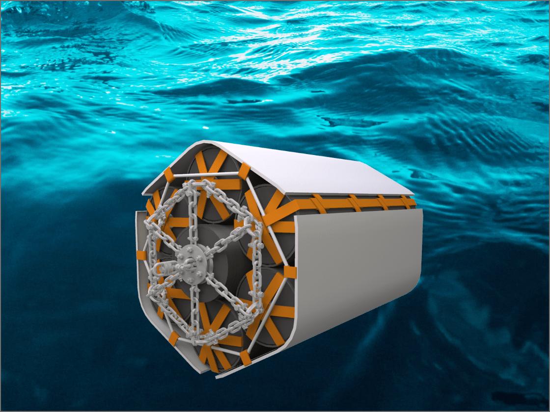 浮体式防舷材の画像