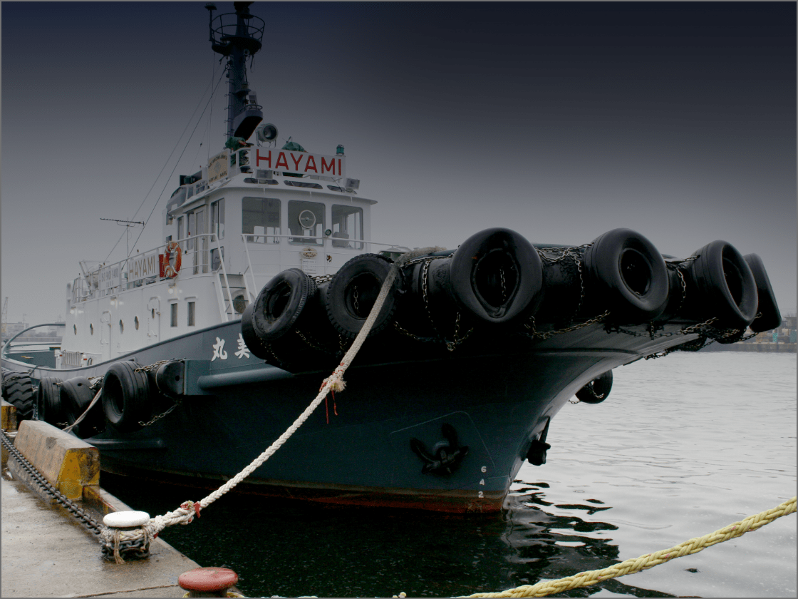 船体取付用防舷材の画像