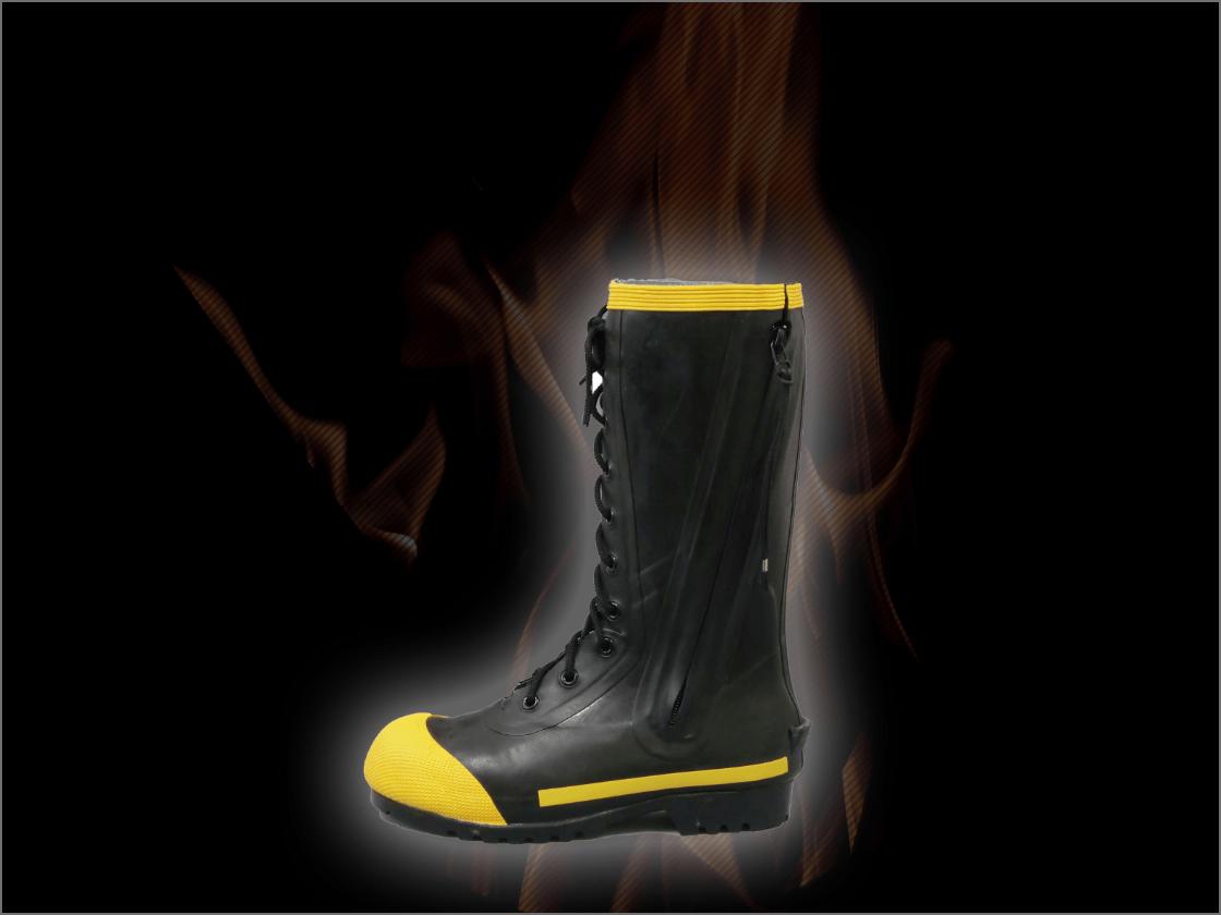 消防活動用長靴の画像
