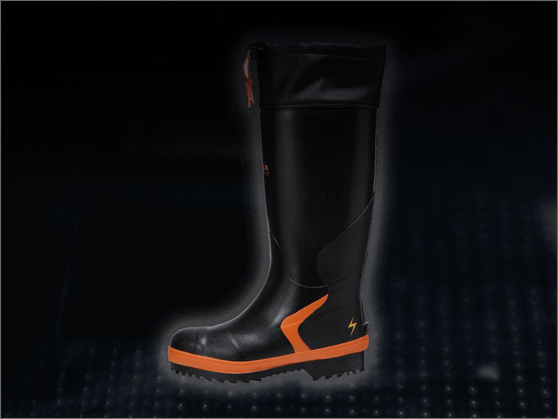 静電気対策長靴の画像