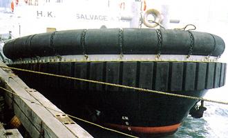 船体取付用防舷材
