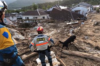 九州北部豪雨災害警備活動
