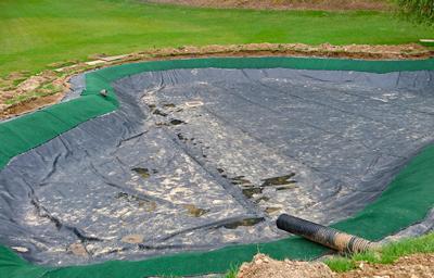 ため池の止水事例