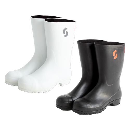 【新商品】AO011安全耐油長(黒)・AO021安全耐油長(白)の画像